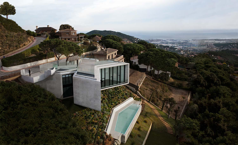 Blog da arquitetura conhe a 5 projetos de casas em penhasco for Home design agency barcelona