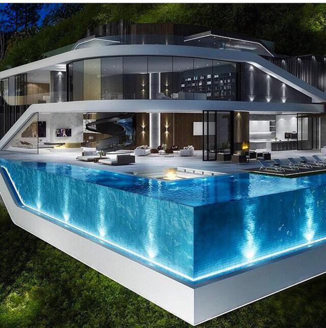 Piscinas de vidro uma mistura de sofistica o e criatividade for Ver modelos de piscinas