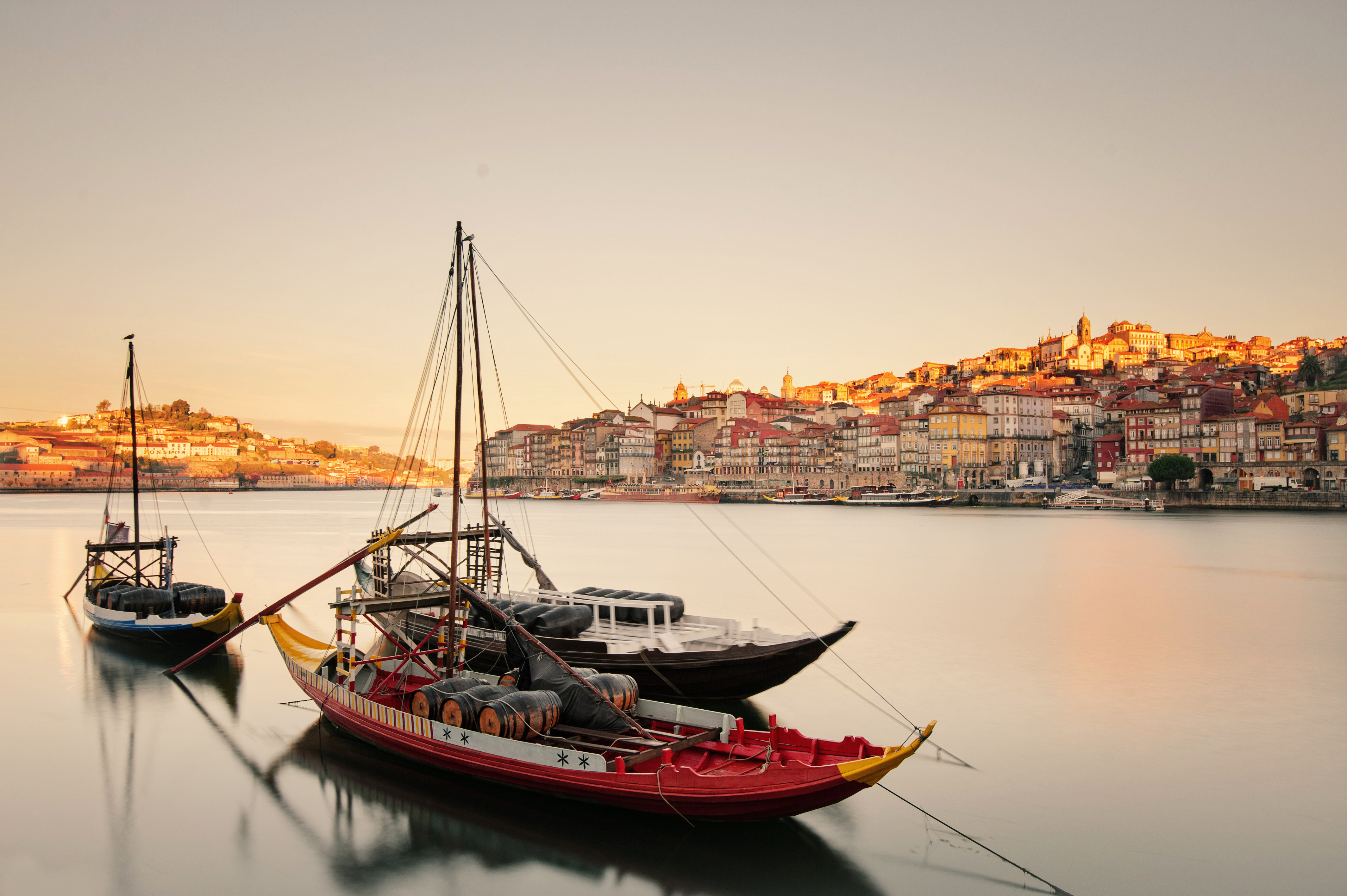 Boats in the Porto