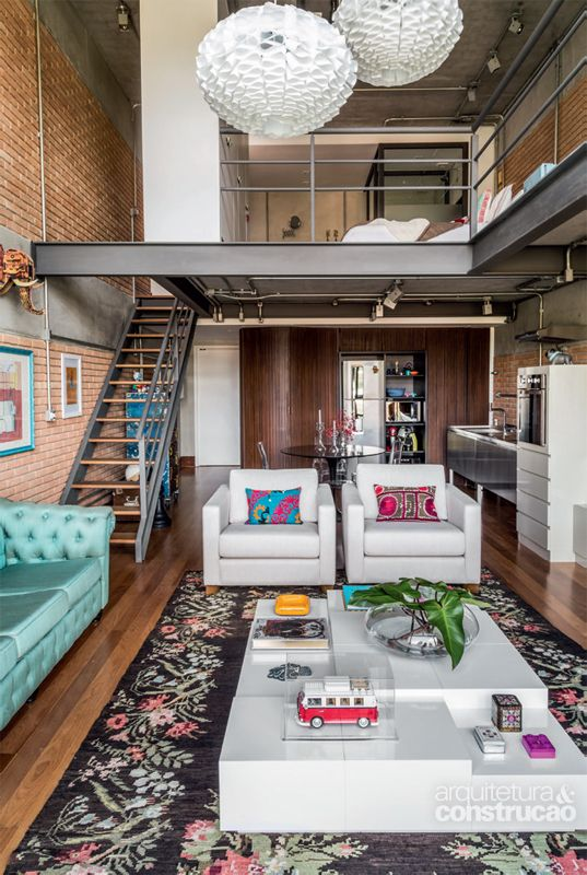 Decore seu loft com estilo for Decorar piso turistico