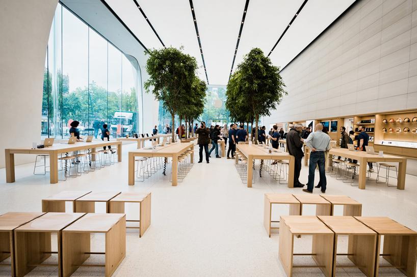 Conheça a primeira Apple Retail Store da Bélgica, projetada