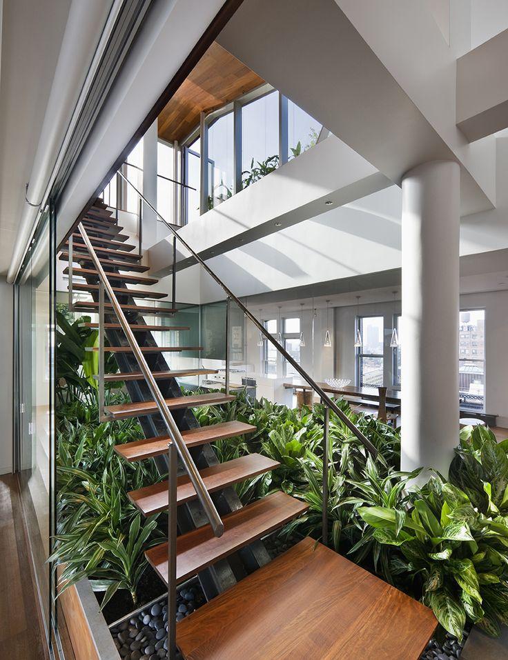 Blog da arquitetura paisagismo debaixo da escada for Plan de loft moderne