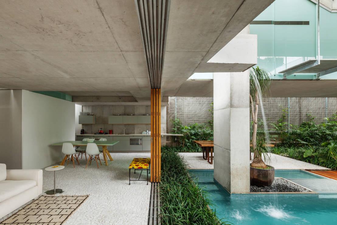 Blog da arquitetura espelho d 39 gua muito mais que uma for Moderna casa di cemento