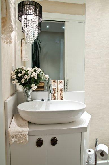 Blog da arquitetura 6 dicas para decorar pequenos lavabos - Lavabo pequeno roca ...