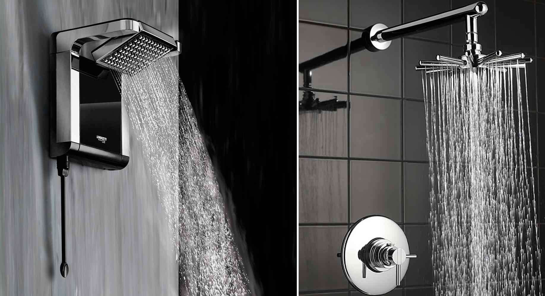 O banho do futuro conhe a modelos de chuveiros bem diferentes e dicas de como escolher o seu - Modelos de duchas ...