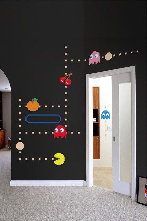 pacman - Quarto gamer: 10 ideias para decorar com o seu personagem (ou jogo) favorito