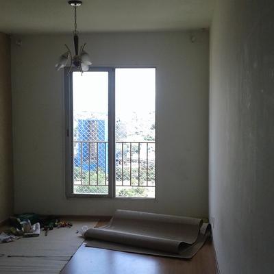 Proteção em reforma de apartamento