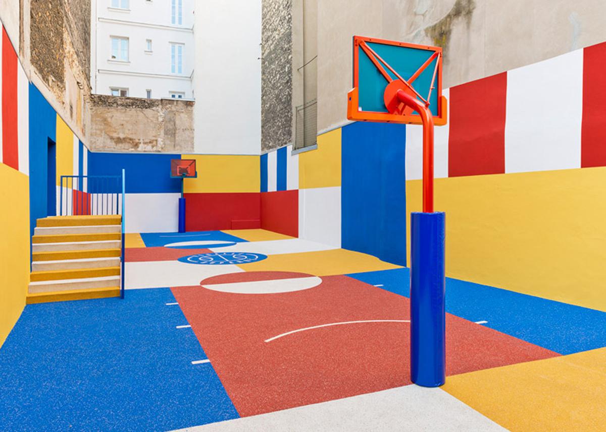 11 1 - Artistas criam quadras esportivas fora do comum para estimular a ocupação dos espaços públicos