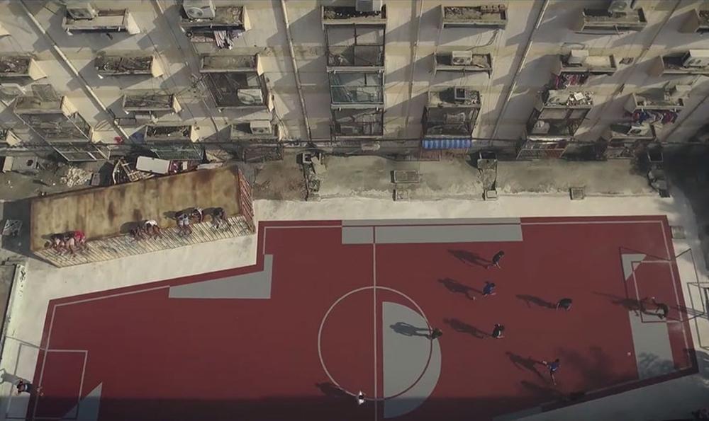 5 - Artistas criam quadras esportivas fora do comum para estimular a ocupação dos espaços públicos
