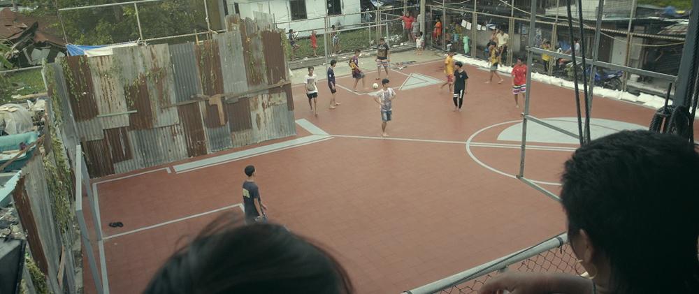 6 - Artistas criam quadras esportivas fora do comum para estimular a ocupação dos espaços públicos