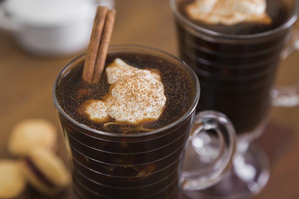 Imagem do café com especiarias já pronto