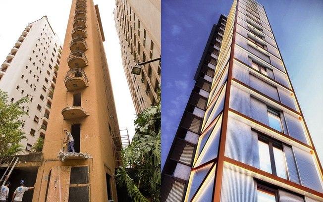 Imagem de projeto de retrofit em prédio comercial