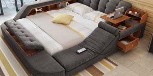 Essa cama diferentona é a coisa mais legal que você verá hoje