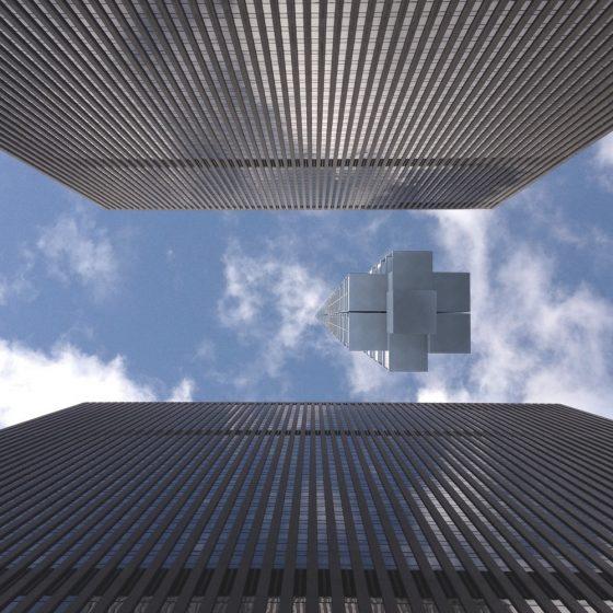 edifício flutuante