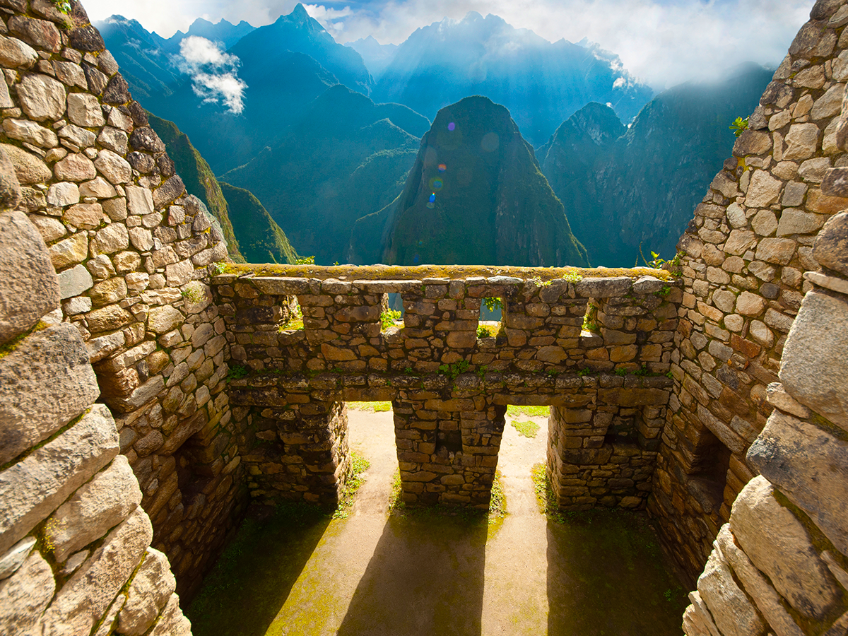 passeio incrível pela arquitetura inca