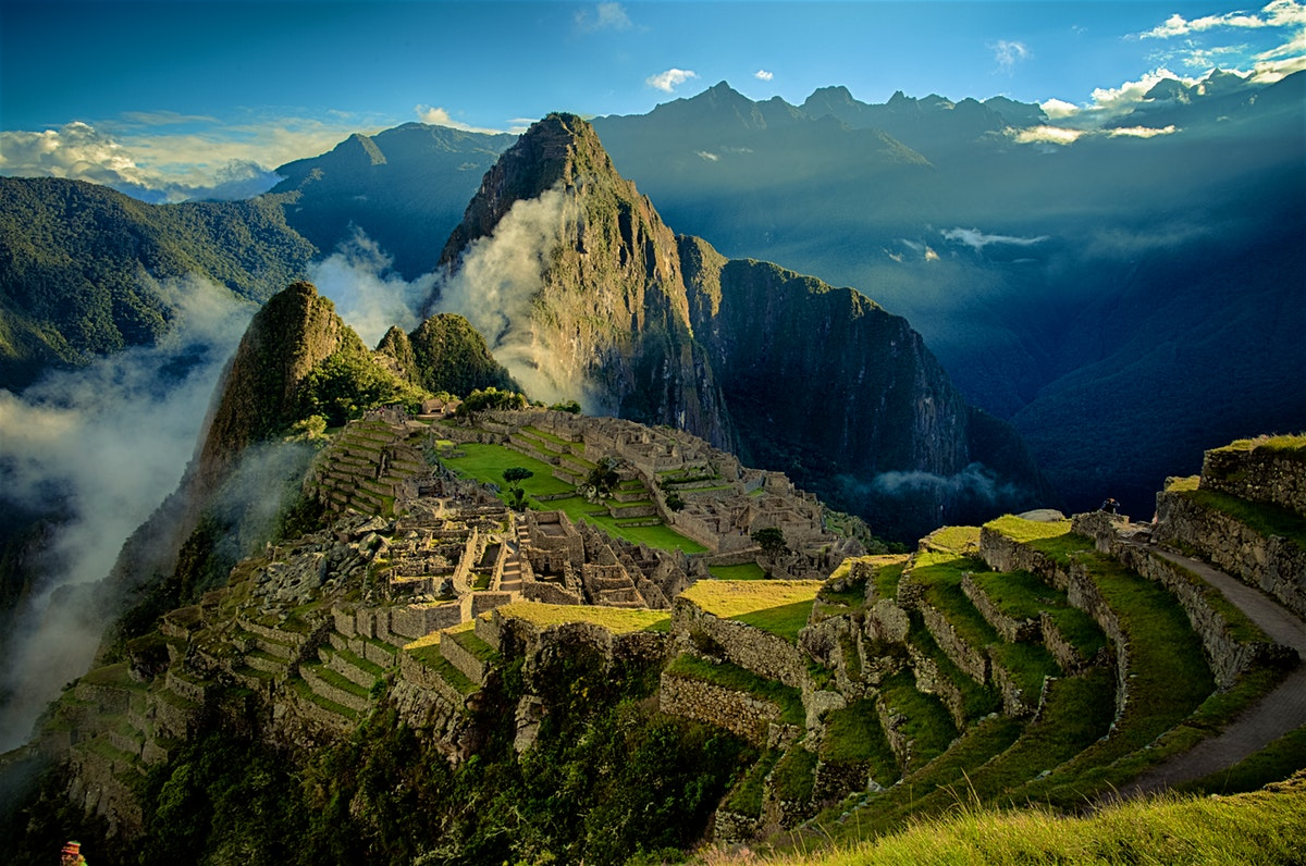 incrível pela arquitetura inca