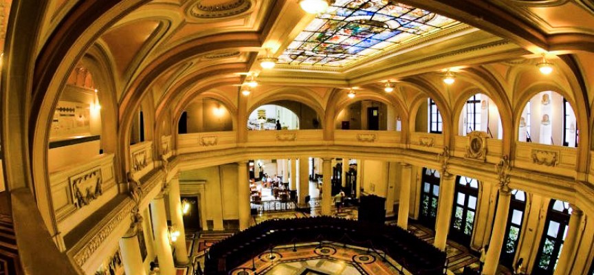 arquitetura do museu do café